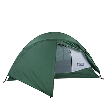Freedome 2 1/2 Green Tent With Green Fly