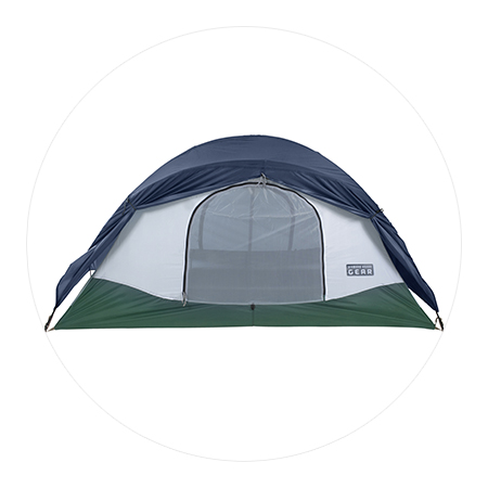 Freedome 2 1/2 Green Tent