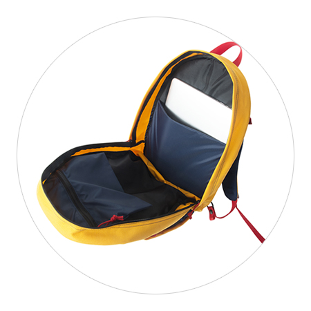 Marigold Belay Bag Interior