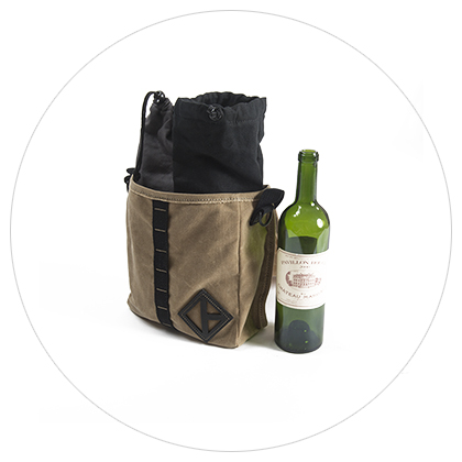 Custom Wine Bottle Bag