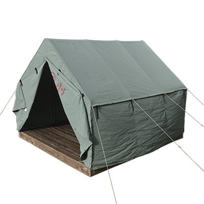 10ft by 12ft  Scout Old School Canvas Wall Tent Pearl Grey
