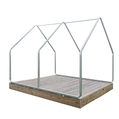 Galvanized Steel Frame for Scout Canvas Wall Tent