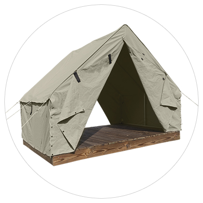 Scout Canvas Wall Tent