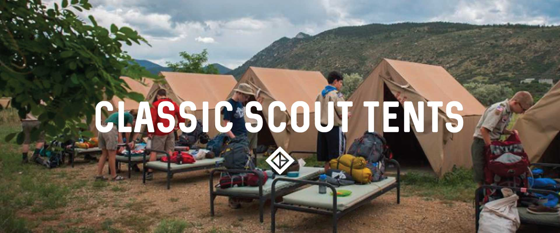 Classic Scout Tents banner