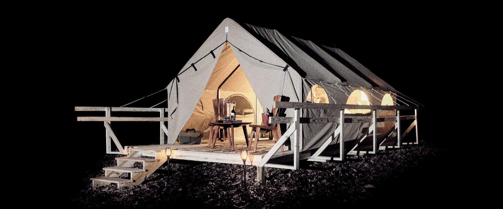 Hestia Canvas Glamping Tent